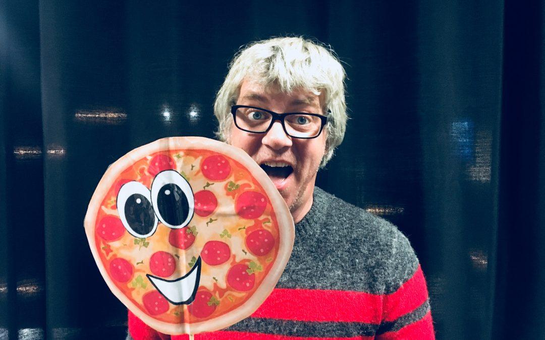 Barnas lørdag: Herr Pizza som ikke ville bli spist