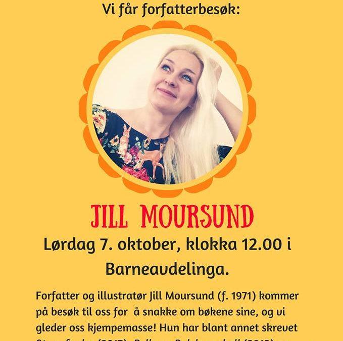 Barnas lørdag: Forfatterbesøk av Jill Moursund