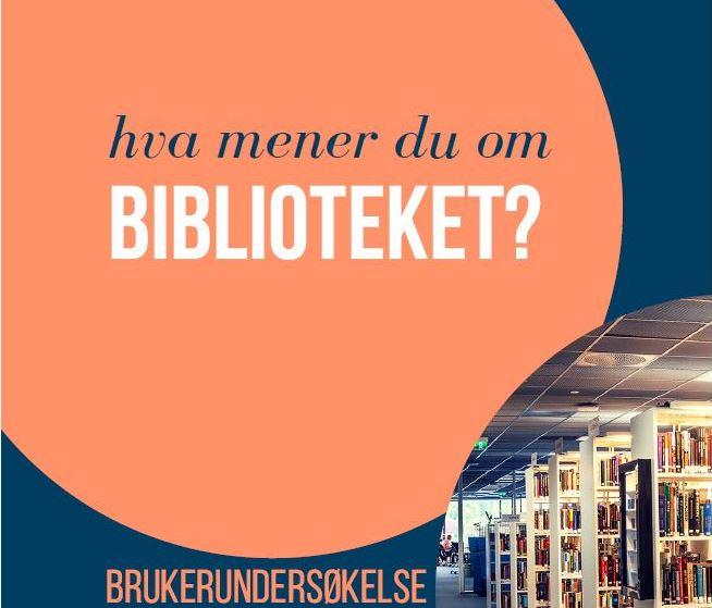 Hva mener du om biblioteket?