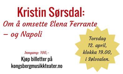 I dag kan du møte oversetteren av Ferrante-bøkene!