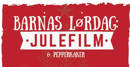 Barnas lørdag: Julefilm