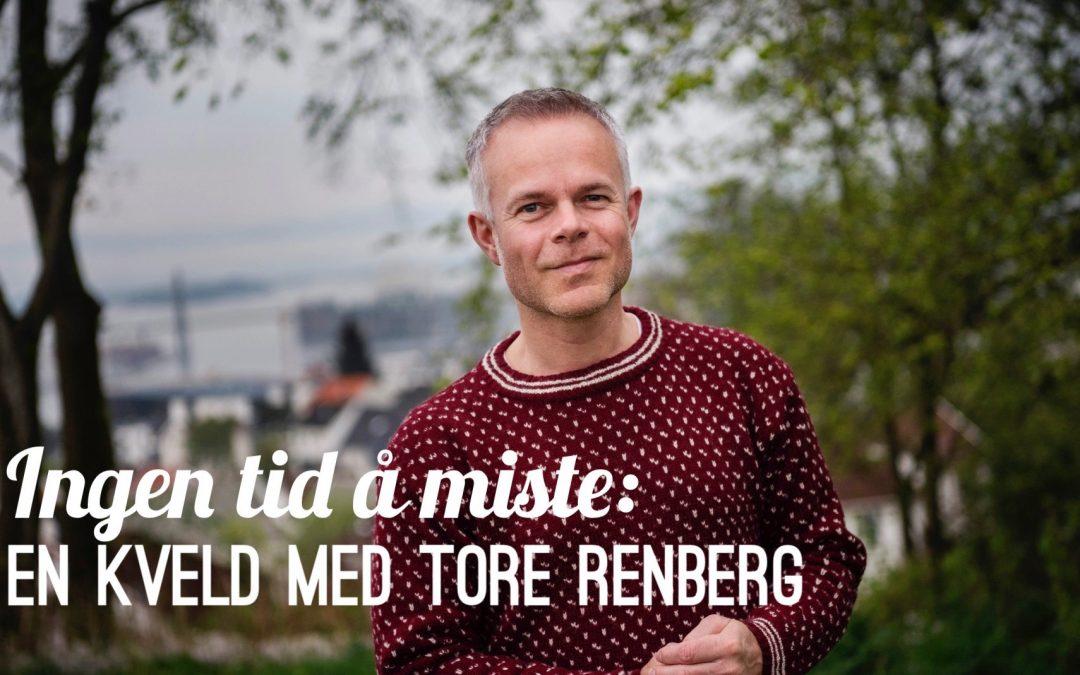 En kveld med Tore Renberg