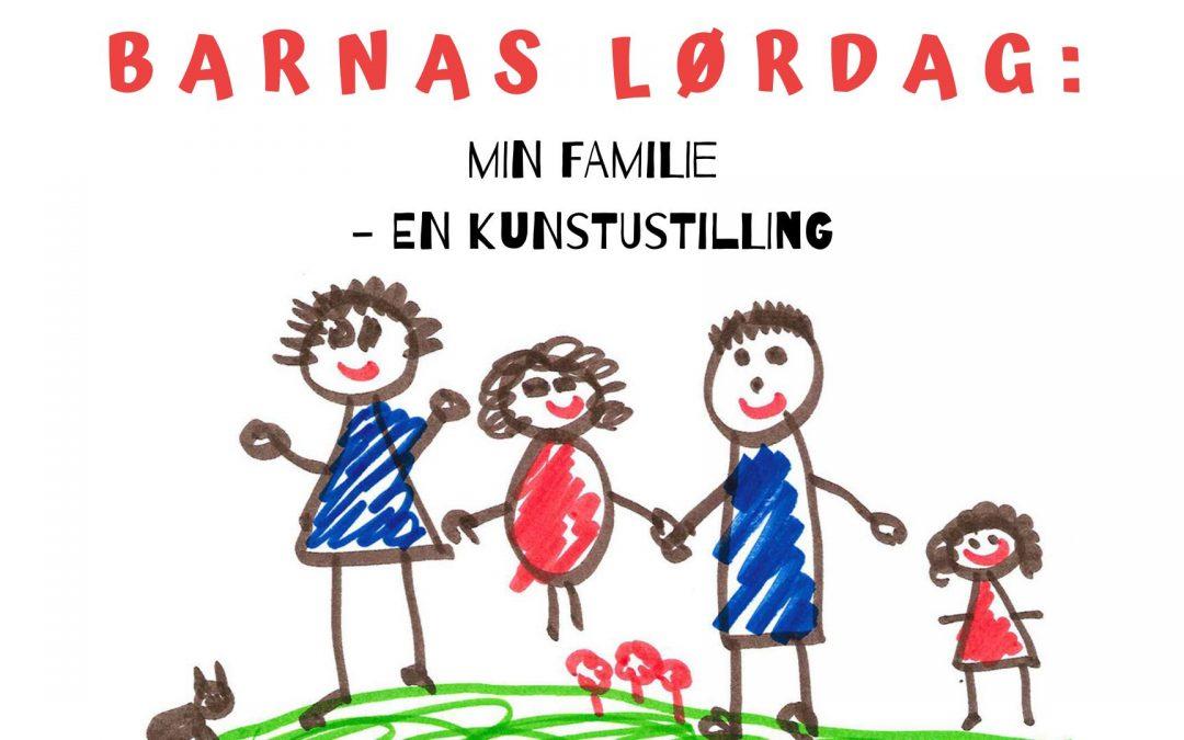 Barnas lørdag: Min familie – tegnemoro og kunstutstilling