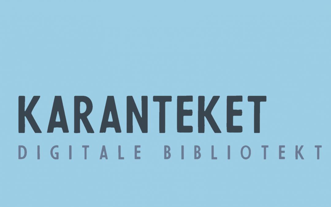 Karanteket – det digitale bibliotekstilbudet