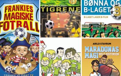 Bokslukertips: Fotballbøker