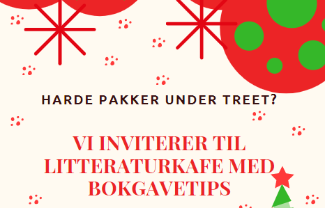 Harde pakker under treet? Digital litteraturkafè