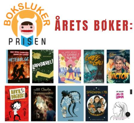 Årets bøker – Bokslukerprisen